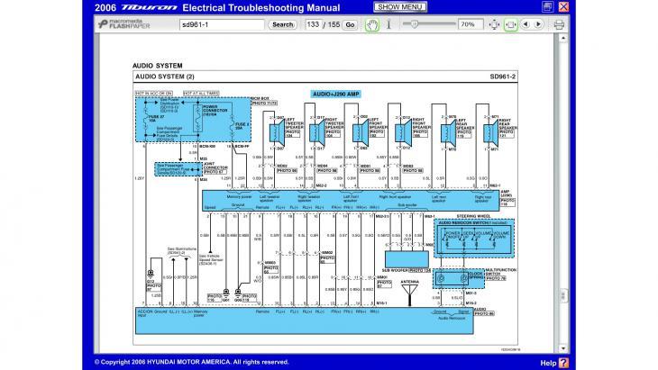2006 Tiburon Wiring Diagram