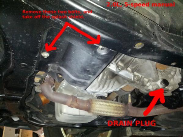 DIY: 2.0L 5-speed transmission oil change - New Tiburon Forum ...